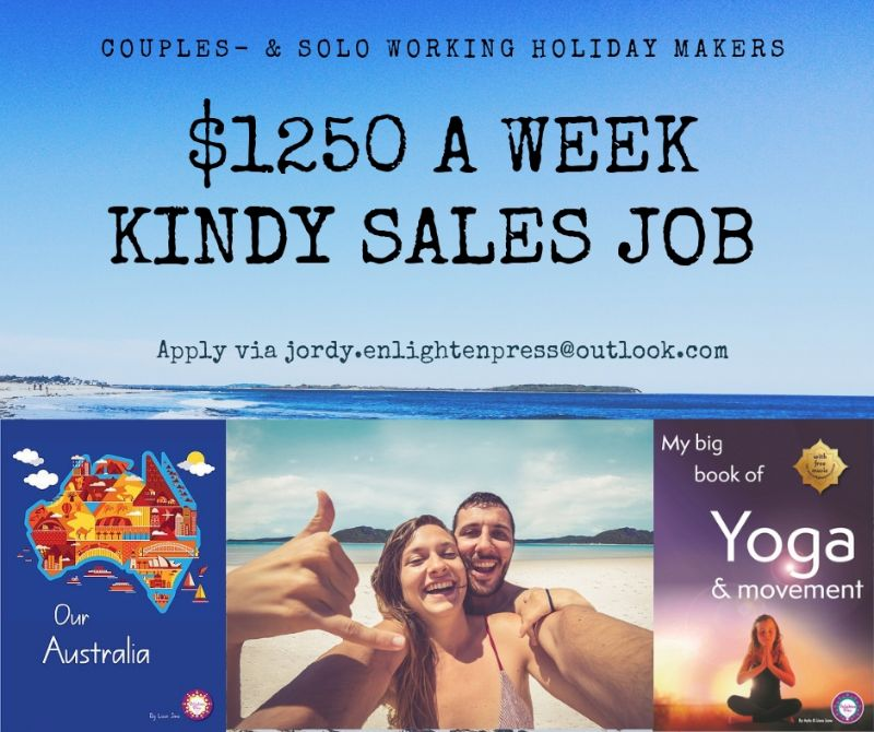 Professional Kindy Sales Couple Wanted - $1250 Per Week!