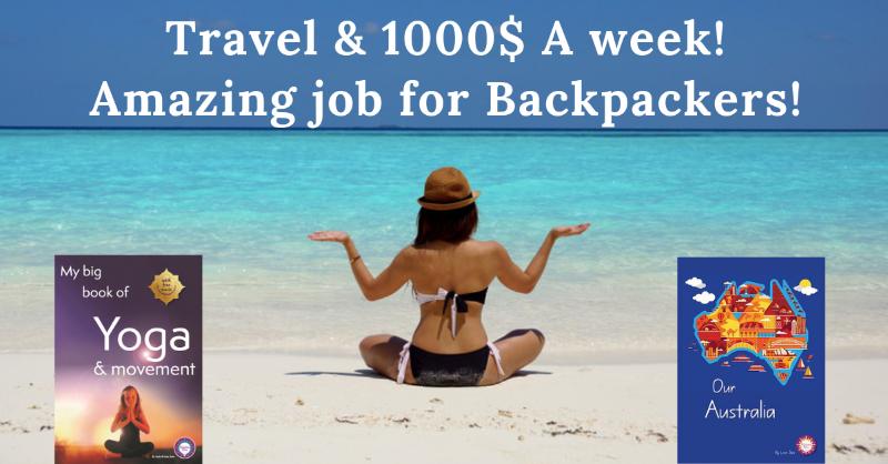 $1000-$1400 P.m. + Travel!