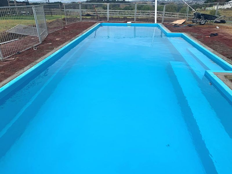Pool Installation And Pool Fence Work