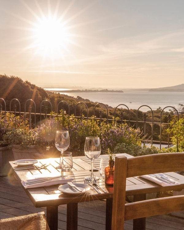 Servers And Bartenders In Vineyard Restaurant
